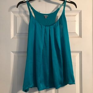 Silk Charolette Russe top